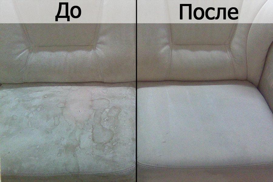 мебель до и после химчистка