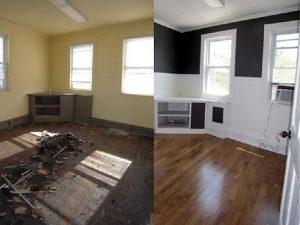 до и после уборки квартиры после ремонта